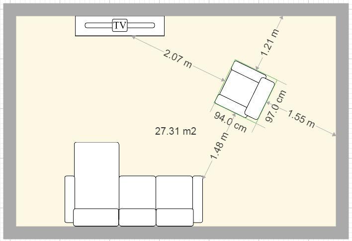 Plan de maison et plan d 39 appartement gratuit logiciel archifacile - Comment dessiner un canape ...