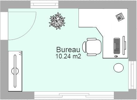Plan de maison et plan d 39 appartement gratuit logiciel - Plan pour fabriquer un bureau en bois ...