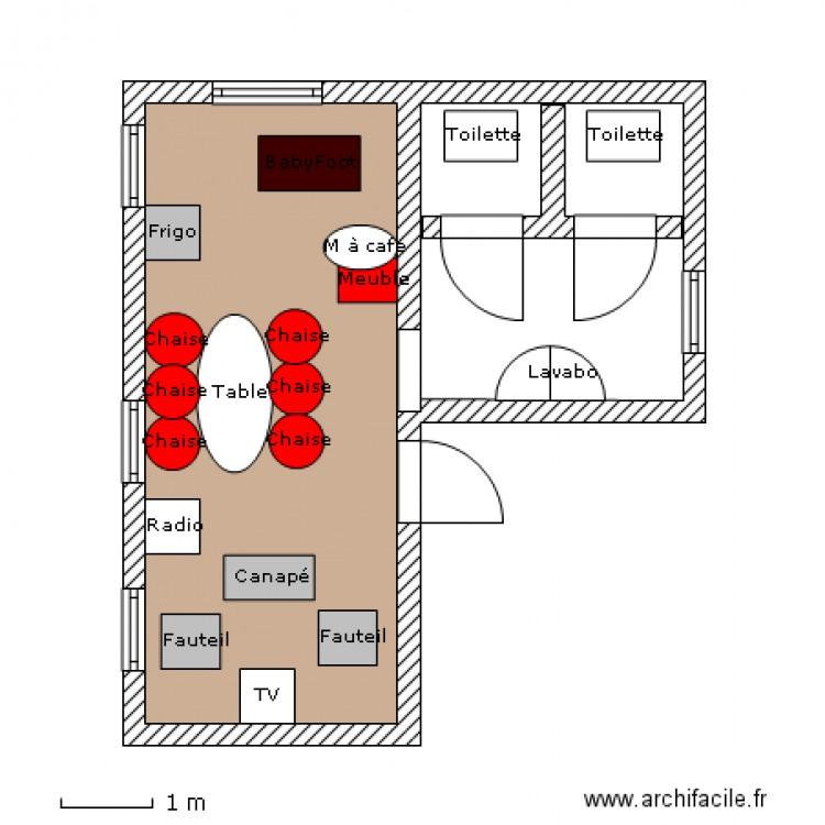 salle de repos plan 2 pi 232 ces 28 m2 dessin 233 par chacha123