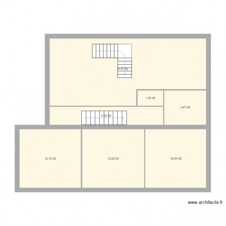 Garons plan 7 pi ces 81 m2 dessin par daniel4 for Plan de garons