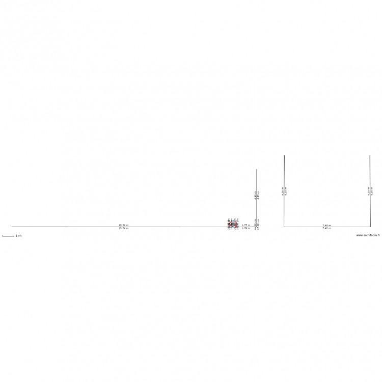 Dp4 plan des facades et des toitures plan 1 pi ce 0 m2 dessin par meridinus - Plan des facades et des toitures ...