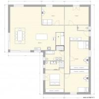 Plan maison et appartement de 150 170 m2 for Plan appartement 150 m2