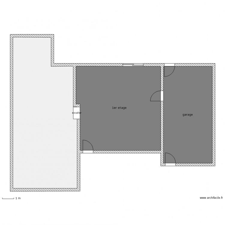 Maison a l 39 chelle 2 em etage plan 3 pi ces 157 m2 for Taille moyenne maison