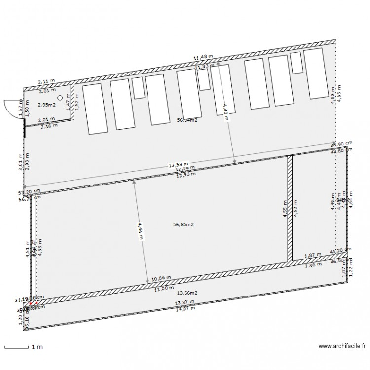 Deck piscine plan 5 pi ces 132 m2 dessin par patbac for Dessiner plan patio