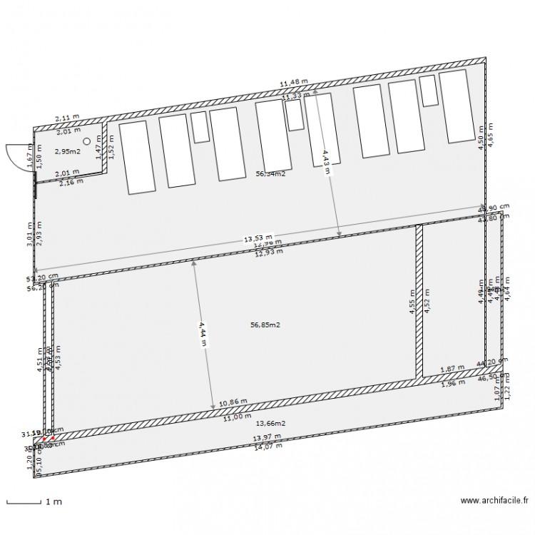 Deck piscine plan 5 pi ces 132 m2 dessin par patbac for Dessiner plan patio