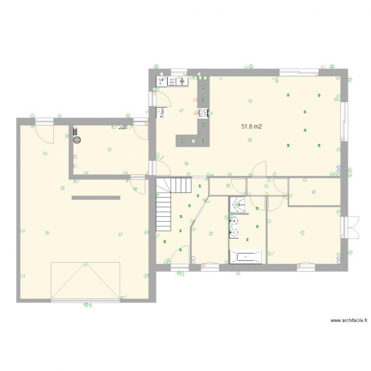 Sanchez plan 10 pi ces 162 m2 dessin par andalous71 for 162 plan