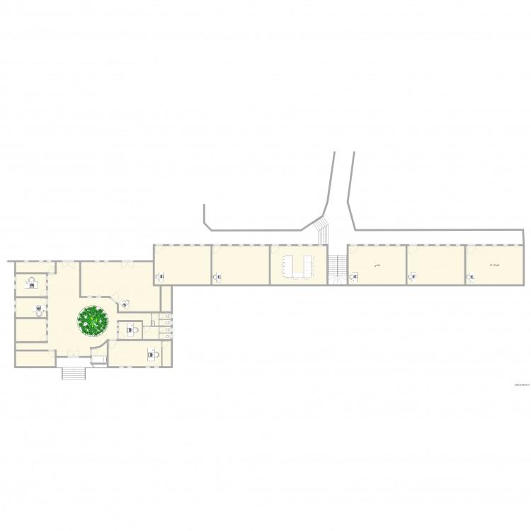Plan lyc e plan 24 pi ces 512 m2 dessin par admin1 for 512 plan