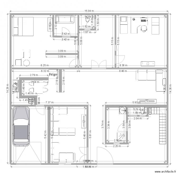 Mon maison plan dessin par hamzalounis01 for Dessine mes plans de maison