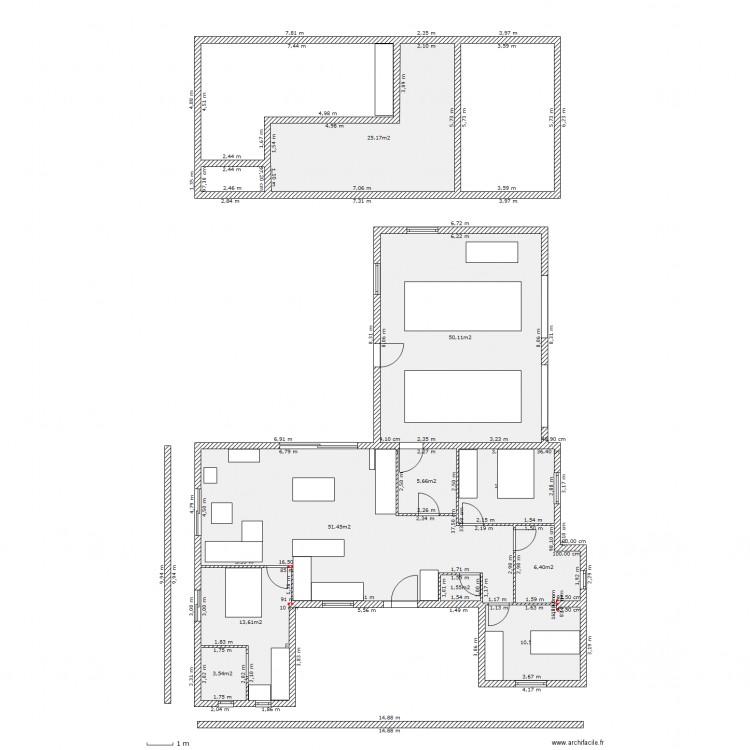 Image maison avec mezzanine gascity for for Plan maison avec mezzanine