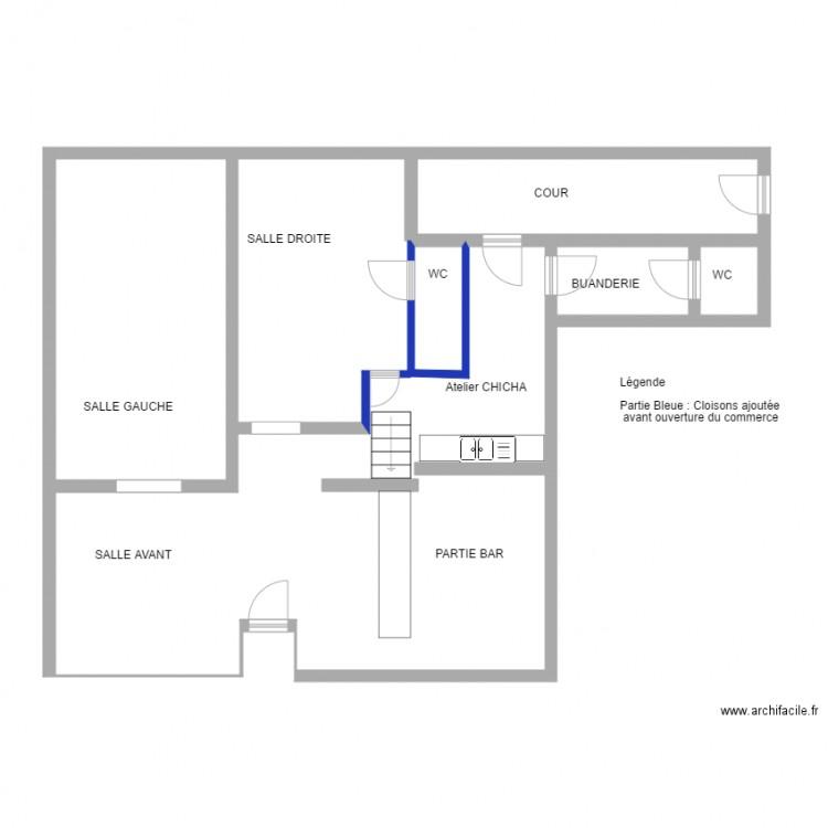 bruay plan 5 pi ces 110 m2 dessin par arp helle. Black Bedroom Furniture Sets. Home Design Ideas
