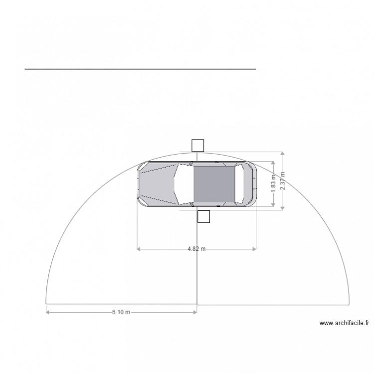 parcours auto rayon de braquage plan dessin par marc gasnier. Black Bedroom Furniture Sets. Home Design Ideas