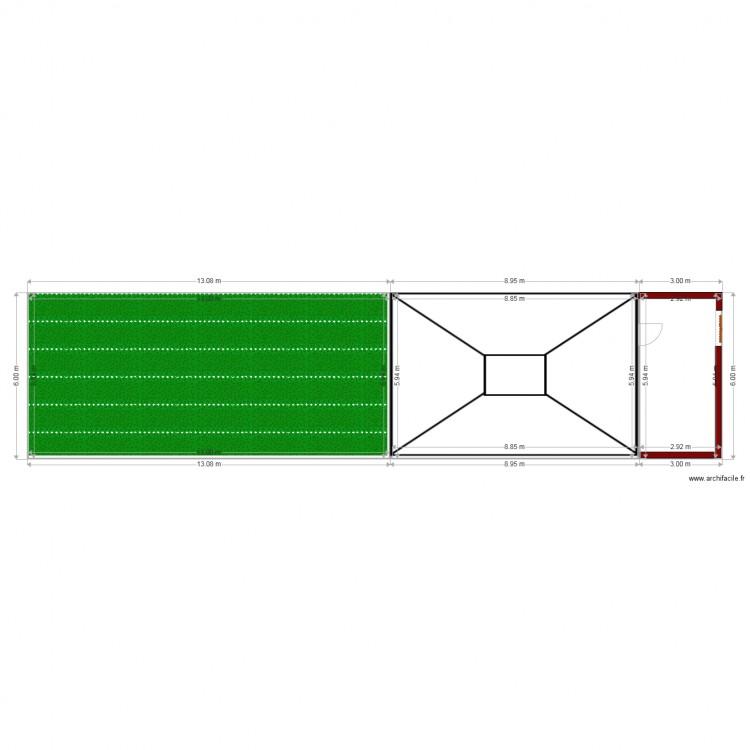 Plan De Masse 2 Plan 3 Pi Ces 147 M2 Dessin Par Sofian