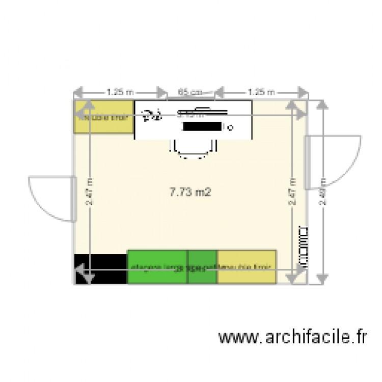 Bureau 3 Plan 1 Pi Ce 8 M2 Dessin Par Marcellin76