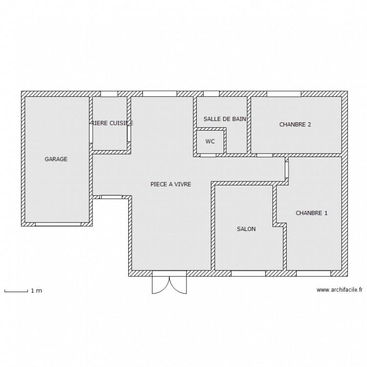 Maison Pierre Curie 2 Plan 8 Pi Ces 89 M2 Dessin Par Maison Pierre Curie